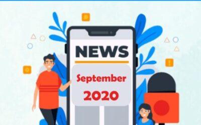 Sept 2020 Current Affairs – चालू घडामोडी सप्टें. २०२०