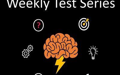 Weekly Test Series – Rajyaseva